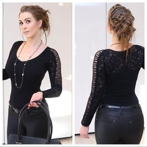 Bebe stretch to fit top